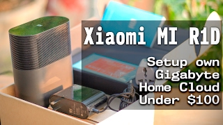 How to set up cloud storage at home - Xiaomi Mi R1D Gigabite AC WiFi Router Unboxing Review