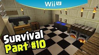 Minecraft Wii U Edition Survival - MAKING A KITCHEN UPGRADE (10)
