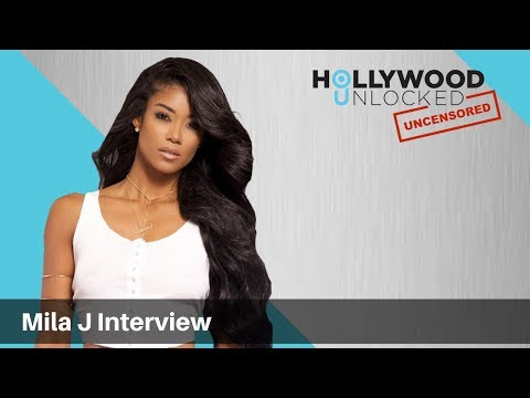 Mila J talks Valentines Day, Growing Up in LA & Sister Jhene Aiko on Hollywood Unlocked [UNCENSORED]