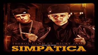 Trebol Clan Ft Nicky Jam-Simpatica (Audio) Reggaeton 2018
