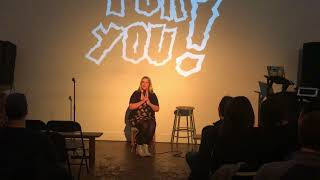 """Christi Chiello """"Who Would You Eat?"""" monologue live in Brooklyn"""