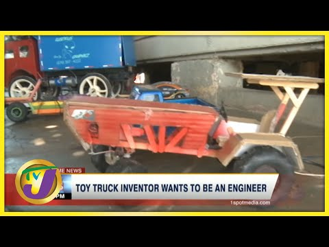 Toy Truck Inventor in Jamaica Wants to Be an Engineer | TVJ News - July 6 2021