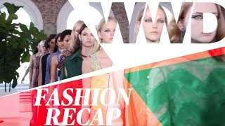From Valentino's Show to the amfAR Gala in Cannes, Here's What Happened in Fashion This Week