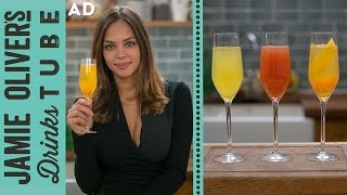 Buck's Fizz / Mimosa Cocktail: 3 Ways! | Danielle Hayley