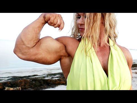 Perfect Fitness Muscle Woman flexing her strong ripped biceps from YouTube · Duration:  1 minutes 4 seconds