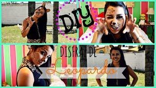 DIY: DISFRAZ DE LEOPARDO ❤/ FÁCIL | Priscila Thumbnail