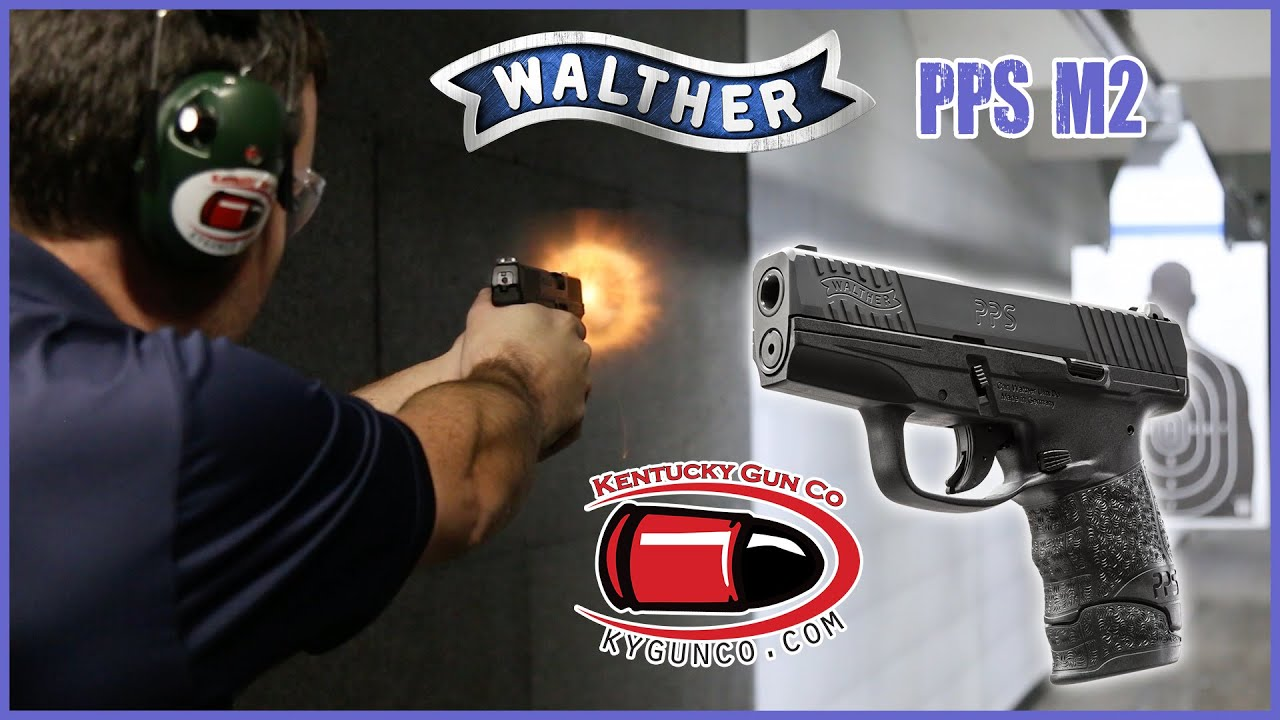 walther pps m2 9mm pistol range review youtube