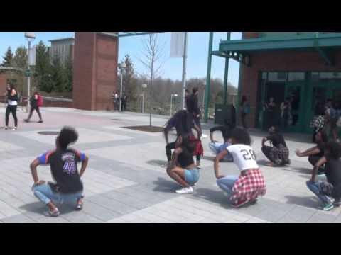 Binghamton African Dance Team Flash Mob