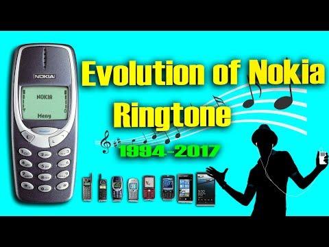 Evolution of Nokia Ringtone  - the evolution of the nokia tune (1994-2017)
