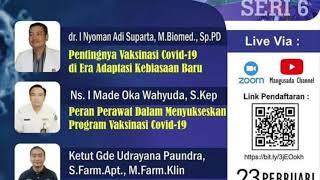 WEBINAR PERAWAT, BIDAN, DOKTER SKP PPNI, IBI, IDI - 23 FEBRUARI 2021