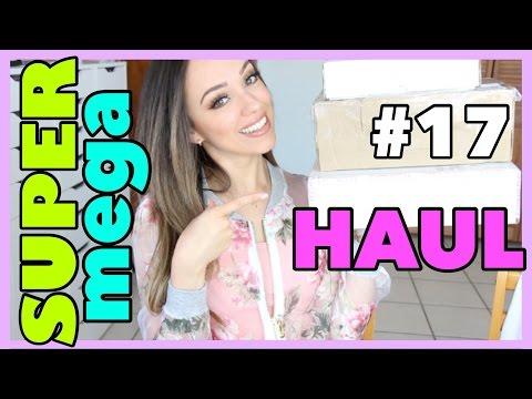 ROPA SEXY, MAQUILLAJE RARO Y MUCHO MAS! | SUPER MEGA HAUL #17