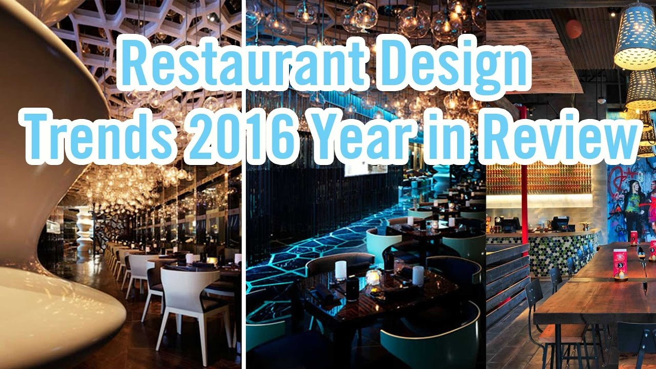 Restaurant design trends in youtube