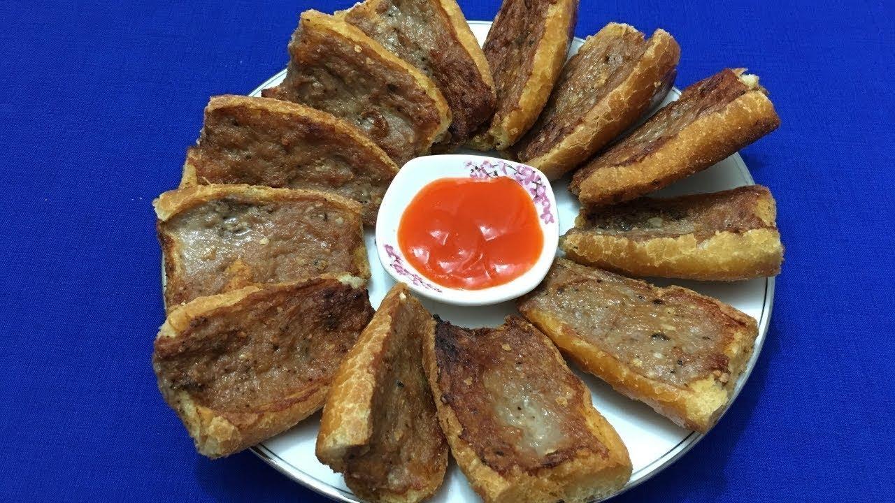 Cách làm Bánh Mì Chả Lụa chiên giòn rụm thơm ngon | Món ngon đường phố mỗi ngày