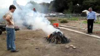 Firing Event #2 - Inca Pottery