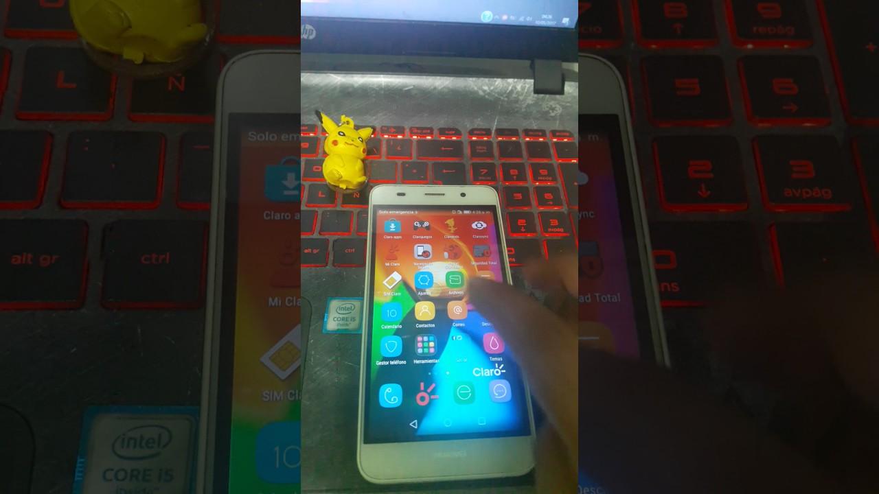 Quitar Cuenta Google Huawei Scl L03  Y6  100  Efectivo