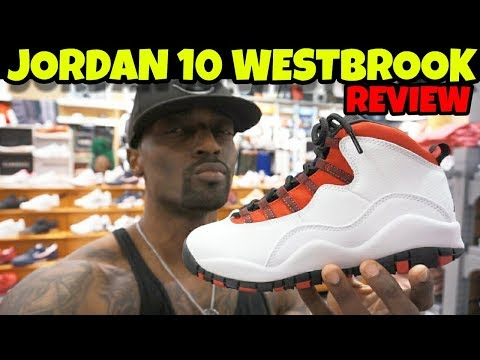 JORDAN 10 WESTBROOK REVIEW!! COP OR DROP??