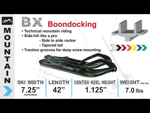 C&A Pro Skis - Boondocking Xtreme (BX) Ski Overview