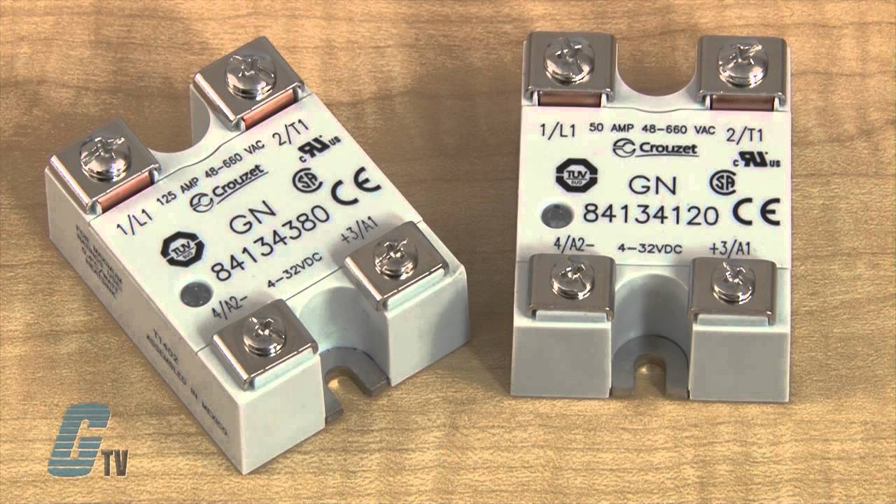 Crouzet GN Series Solid State Relays YouTube