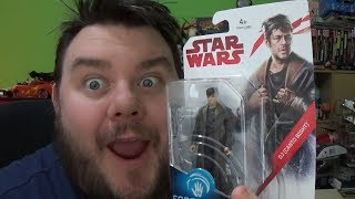 DJ (Canto Bight) Star Wars Last Jedi Force Link 3.75 Action Figure Toy Review