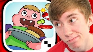 BLAMBURGER – FAST, FUN BURGER BUILDING ARCADE ACTION WITH CLARENCE (iPhone Gameplay Video)