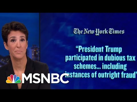 Fraud Of Donald Trump's Self-Made Persona Exposed In Father's Financials | Rachel Maddow | MSNBC
