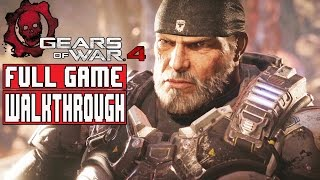GEARS OF WAR 4 Gameplay Walkthrough Part 1 FULL GAME (1080p) - No Commentary