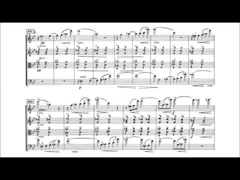 Edvard Grieg - String Quartet No. 1 in g minor [With score]