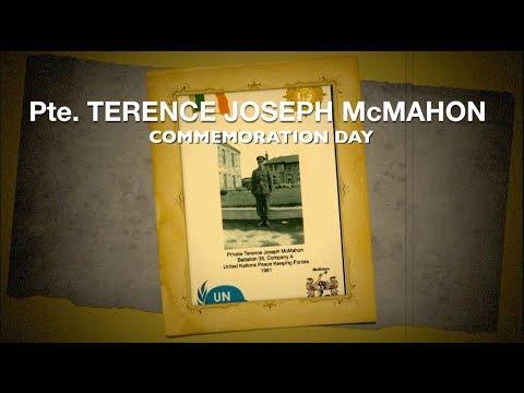 Terence McMahon Commemoration - Balbriggan 15th July 2017
