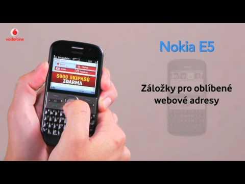 Nokia E5 - Internet