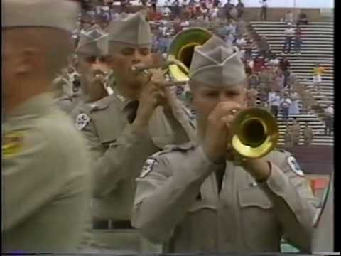 1984 85 Fighting Texas Aggie Band
