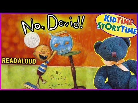 NO, DAVID! Read Aloud | Books for Kids