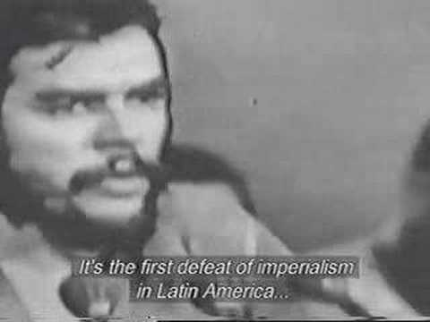 Che talking about the Bay of Pigs Invasion.