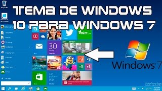 Descargar e instalar windows 10 para windows 7 y 8 |SKINPACK| |TEMA|
