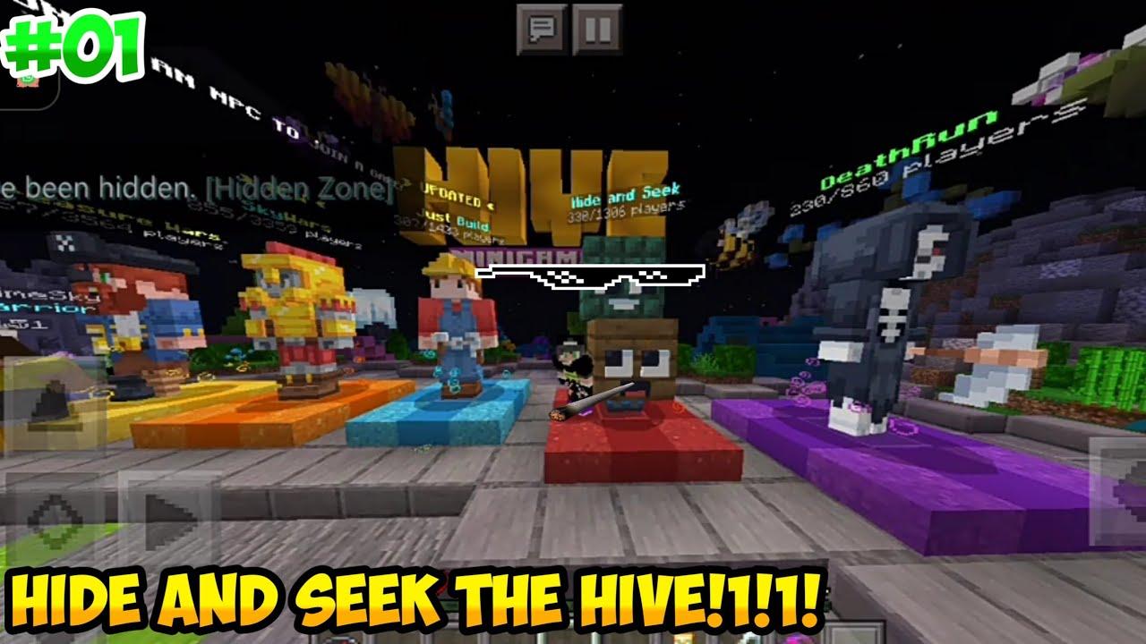Minecraft PE : Block Hunt / Hide N Seek #1 Funny Moments
