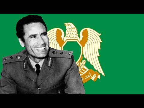 Allahu Akbar! National Anthem of Green Libya! !الله أكبر‎‎ (English Lyrics)