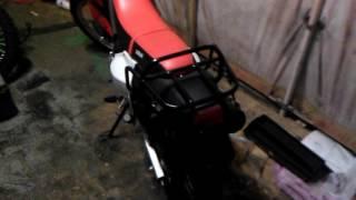Lifan gy5 200cc dad's new bike