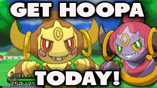 Download lagu HOW TO GET HOOPA in Pokemon X and Y Powersaves Hoopa Update How To Get Hoopa MP3