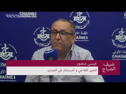 الخبير الفلاحي و المستشار في التصدير السيد عيسى منصور