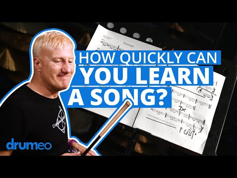 How Quickly Can You Learn A Song On Drums?