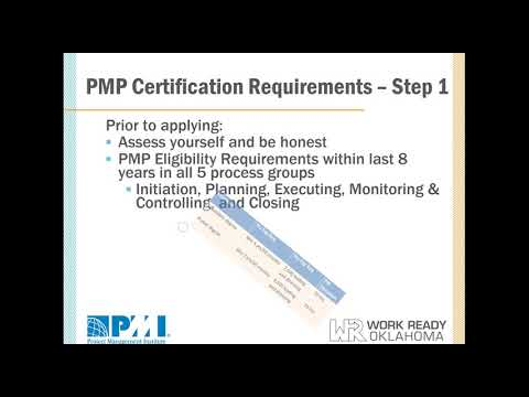Work Ready Oklahoma On-Demand Informational Webinar about PMP Certification