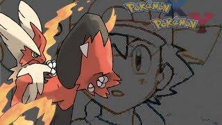 Pokemon XY Anime Trailer MegaBlaziken