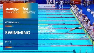 RE-LIVE | Swimming Day 5 | Main Pool | FINA World Masters Championships 2019