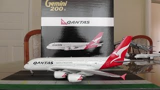 Gemini Jets 1:200 Qantas A380 Unboxing and Review