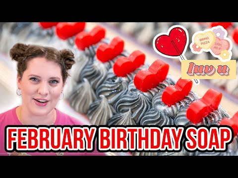 I Made Soap For People Born in February | Royalty Soaps