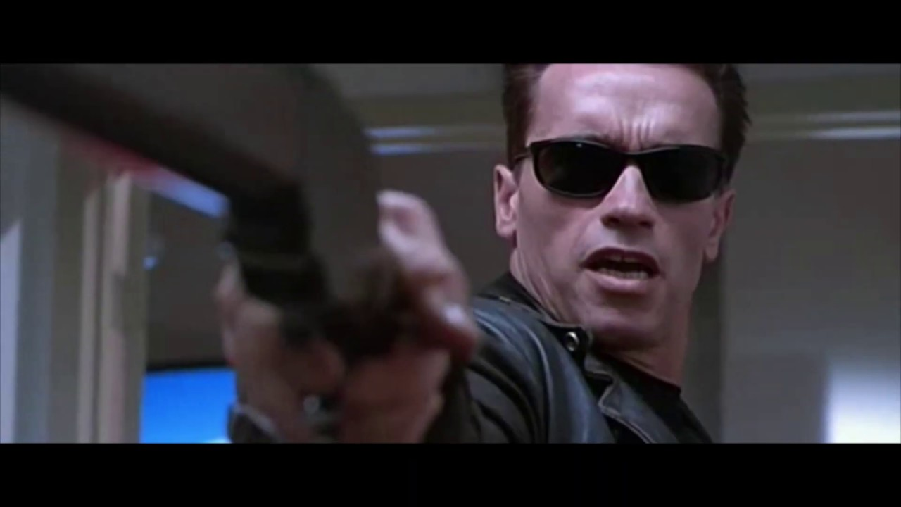 Download Terminator 2: Judgment Day (1991)   T-800 Vs T-1000   Galleria Fight Scene   HD