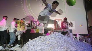 Бумажное шоу Paper Man