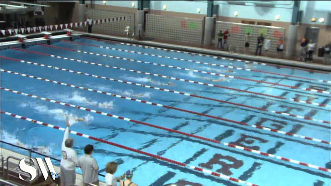 Women's 100 Meter Freestyle Prelims Heat 6 - YouTube