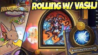 High Rolling AND Low Rolling w/ Lady Vashj | Firebat Hearthstone Battlegrounds