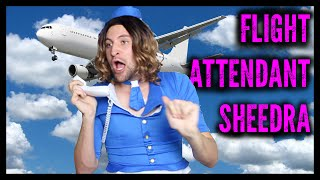 Ghetto Flight Attendant (part 2) | Sheedra #SheedraGoesToWork