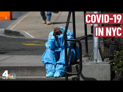 Today Was New York's Deadliest Day Yet In The Fight Against COVID-19 | NBC New York